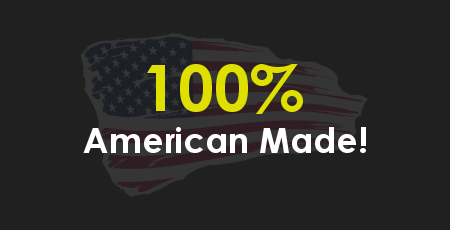 Thomure Manufacturing is proud to manufacture 100% of our products here in the USA!
